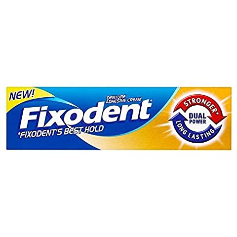 Fixodent Denture Adhesive Cream Dual Power (35ml) by