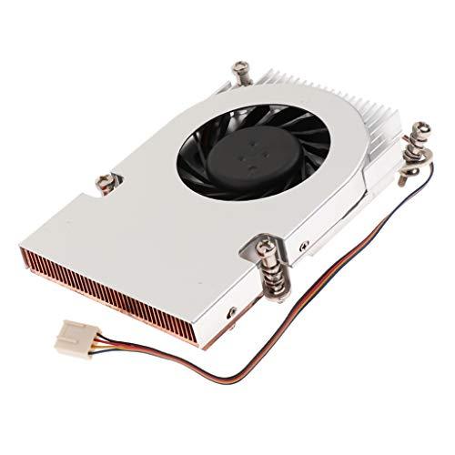 F Fityle Heatpipes CPU Kühler Kühler Lüfter 2700RPM Öllager Für Intel -