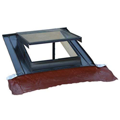 Lucernario finestra per tetto verticale modello Top alluminio Art. 257V TECNOMETAL
