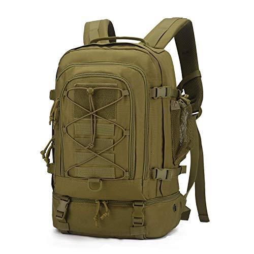Mardingtop 25l/28l zaino tattico militare molle zaini da viaggio zaino moto per trekking all'aperto escursionismo sportivo, multifunzione, unisex