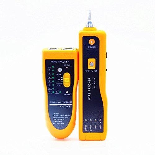 elegantstunning Multifunktions Telefon Kabel Tester, Elektrische Netzwerk LAN Line Finder