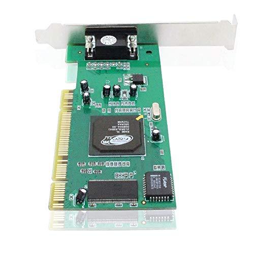 XiaoMall AS99 Desktopcomputer CPI Grafikkarte ATI Rage XL 8 MB VGA Videokarte PC Zubehör