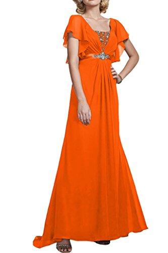 Missdressy - Robe - Trapèze - Femme Arancione