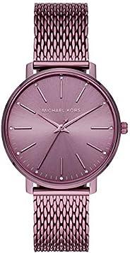 Michael Kors Pyper Women's Purple Dial Stainless Steel Analog Watch - MK