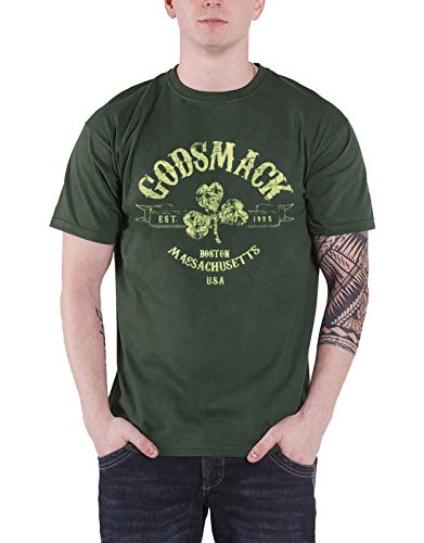 Godsmack T Shirt Herren Celtic Band Logo Boston usa Nue offiziell - Celtic-logo-t-shirt