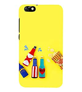 Ebby Printed Back Cover for Huawei Honor 4X(Premium Designer case)
