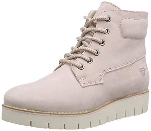Tamaris 26274 Damen Combat Boots Pink (Lt.Pink 524)