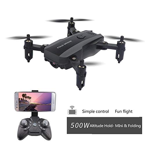 ATpart Folding Drone, Drone Quadcopter Aerial Photography Drone Altitude Hold Quadcopter RC Drone for Children and Beginners