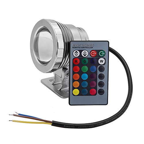 koulate RGB Fernbedienung 5 watt wasserdicht led Unterwasser Schwimmbad licht Lampe für Outdoor Landschaft brunnen teich Beleuchtung (1#)