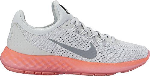 Nike Damen 855810-004 Trail Runnins Sneakers Pure Platinum/Stealth/Summit White
