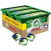 Ariel 3en1 Pods Ecodoses Original - Lessive Doses - 114 lavages (pack de 3x38 capsules)