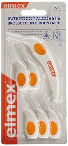 Elmex 255264 Interdentalbürste, 1er Pack (1 x 6 Stück)