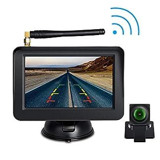 Digitale-Kabellose-Rckfahrkamera-und-Einparkhilfe-5-Zoll-Kabelloser-Rckfahrmonitor