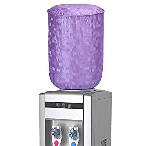 E-Retailer Purple Standard Size PVC Water Dispenser 20 LTR Bottle Cover with Water Lavel Indication (Purple)