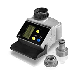 Irrigation computer with LCD display