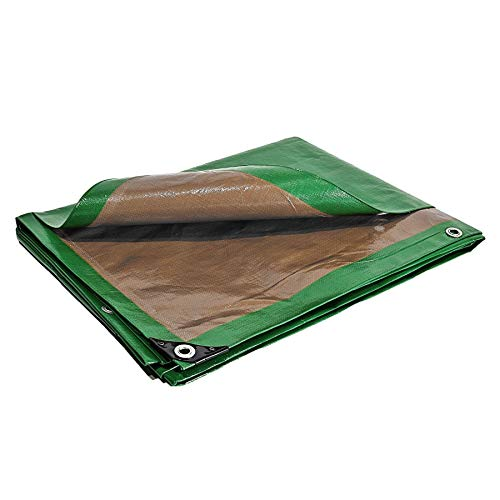 Bache de protection 250 g/m² - 3 x 5 m - bache plastique - bache exterieur - bâches étanches - bache toiture - bache de chantier