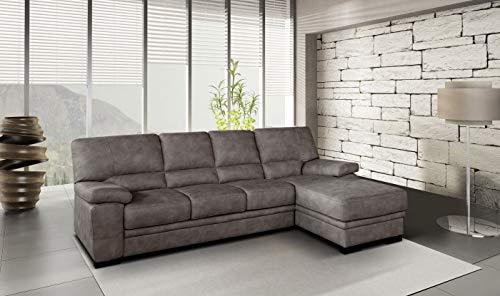 Casarreda store divano angolare 3 posti con letto estraibile e chaise longue dx/sx mod. praga