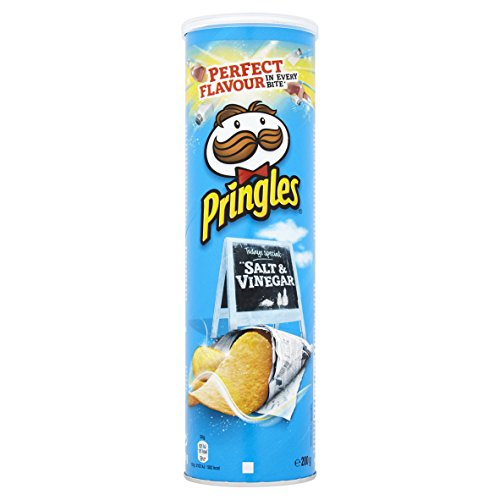 Preisvergleich Produktbild Pringles Salt & Vinegar Chips,  19er Pack (19 x 200 g)