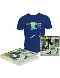 Coffret Cool Struttin' Vinyl et T-Shirt Bleu Navy taille M