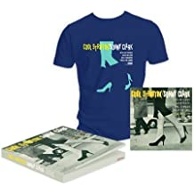 Coffret Cool Struttin' Vinyl et T-Shirt Bleu Navy taille L