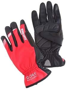 Gore Bike Wear Mistral Windstopper Gants homme Rouge/Noir FR : XL (Taille Fabricant : 9)
