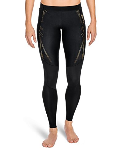 Skins Women's A400 Skins Women's A400 Long Tights - Gold, Large Test