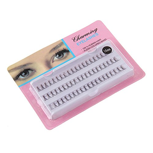 ✿Higlles 60pcs 10mm Rallonge Extension Faux-cils Individuels Outil de Maquillage