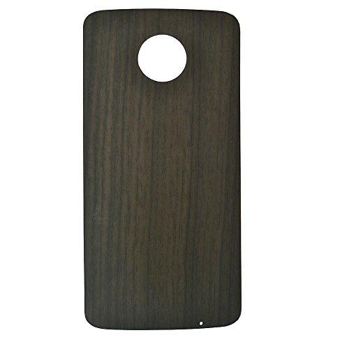 Motorola Moto Z3Play Stil Shell Fall, dngn Ultra Dünne magnetische Adsorption Backplate Cover für Moto Z Z2Z3Serie, for Motorola Moto z3 Play Moto Z Z2 Z3 Series, Gray Grain
