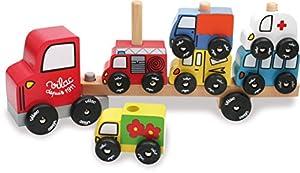 Vilac 2417 - Camión portavehículos (madera)