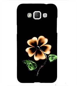 Flower with Fire 3D Hard Polycarbonate Designer Back Case Cover for Samsung Galaxy Grand Max
