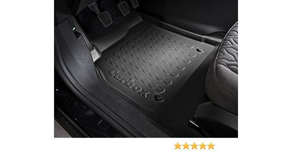 Fussmatten Deluxe Auto Fußmatte Fußraumschale Fahrerseite Schwarz Passgenau Formstabil Geruchlos Vegan Recycelbar Fahrzeug In Der Beschreibung Auto