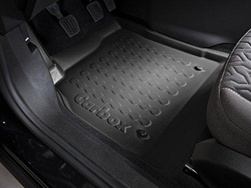 Preisvergleich Produktbild Carbox Floor Fußraumschale Fahrerseite schwarz passend für das unten genannte Fahrzeug.