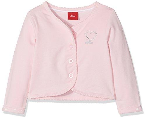 s.Oliver Baby-Mädchen Strickjacke 59.805.31.8080, Pink (Light Pink 4103), 92