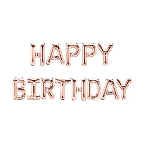 -Ballons, Folien-Ballons, Buchstaben-Ballons (Happy Birthday Band)