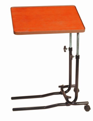 Drive Medical 701 - Mesa auxiliar para cama o silla con 2 ruedas