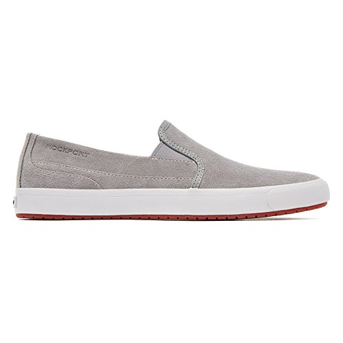 Rockport Uomo Path to Greatness Slip-on scarpe mocassini & Slip-ons Grey Leather