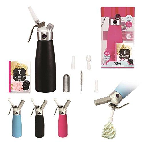 lily-cook-siphon-tout-alu-500-ml-chaud-froid-soft-touch-rose-bleu-noir