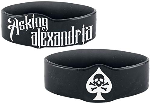 Skull Spade Armband (Asking Alexandria-armband)