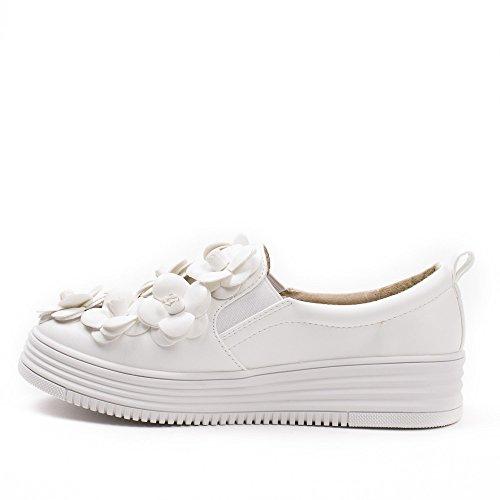 Zapatos Ideales, Bailarinas De Mujer Blanca