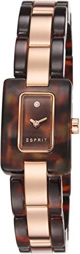 Esprit - ES106492004 - Montre Femme - Quartz Analogique - Bracelet Acier Inoxydable Plaqué Or Rose