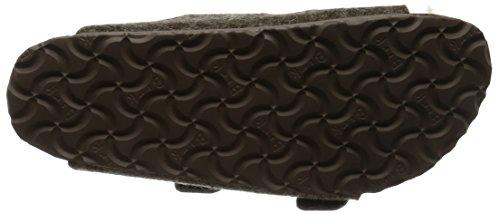 Birkenstock - Arizona, Sandali Unisex – Adulto Marrone (Brown (Cacao Happy Lamb Beige))