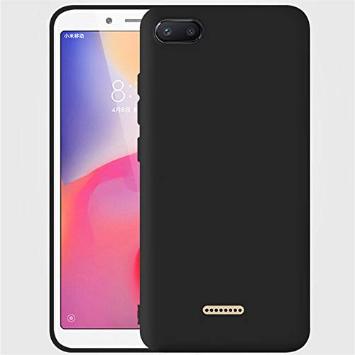 best website b391c a0282 Tarkan Royal Ultra Slim Flexible Soft Back Case Cover for Redmi 6A [Matte  Black] 360 Degree Full Coverage with Camera Protection (September 2018 ...