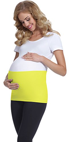 Be Mammy Maternité Ceinture de Ventre Femme GX001 Citron Vert