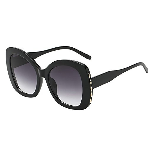 Battnot☀ Sonnenbrille für Damen Herren, Unisex Oversized Übergroße Vintage Unregelmäßige Rahmen Mode Anti-UV Gläser Schutzbrillen Männer Frauen Retro Billig Sunglasses Women Eyewear Eyeglasses