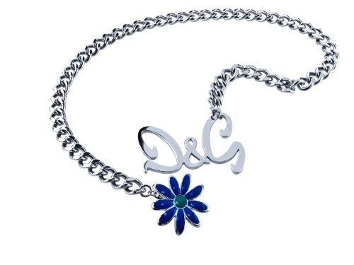 D g dolce gabbana & &, per adulti, unisex, 70 centimetri dj0427 collana con pendente in acciaio