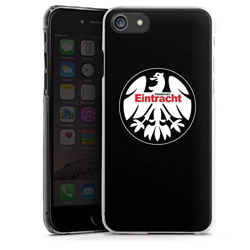 Apple iPhone 6 Plus Tasche Hülle Flip Case Eintracht Frankfurt Fanartikel Fussball Hard Case transparent