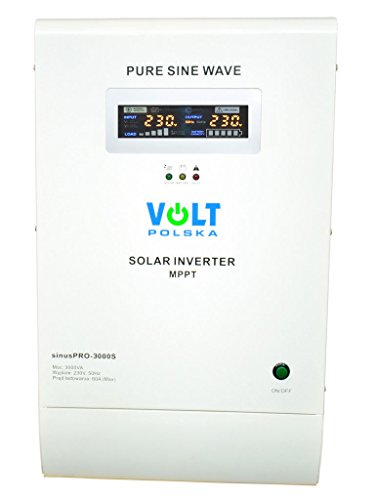 Off - Griglia Volt sinusoidale pura energia solare Inverter-Charger sinuspro-3000s