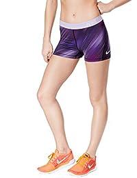 4064ffc10 Nike Pro Cool Corto para Mujer Corto SZ XL Fitness/Entrenamiento Iris  Oscuro/Blanco