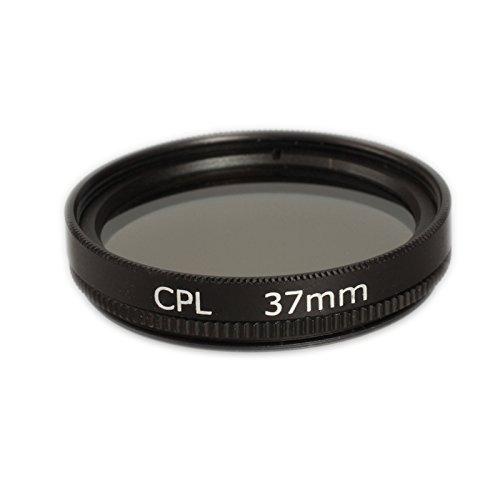 Ares Foto® Polfilter 37mm für Panasonic H-FS12032 LUMIX G Vario 12-32 mm / F3.5-5.6 ASPH. / MEGA O.I.S.