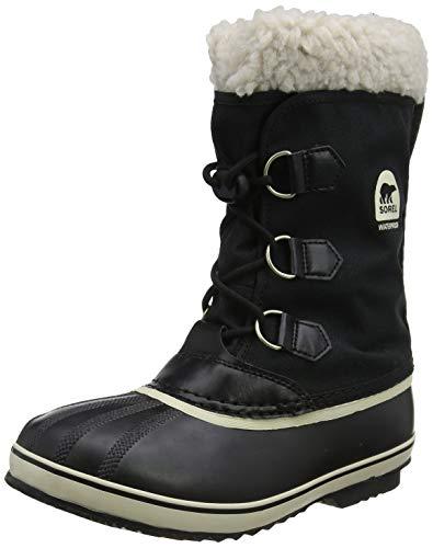 Sorel Kinder Yoot Pac Nylon Stiefel, schwarz, Größe: 32 -
